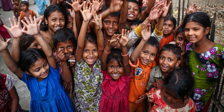 Students at the MaMoni project in Baniachang Upazila, Habiganj District, Bangladesh. Photo Credit: Shafiqul Alam Kiron/Save the Children 2015