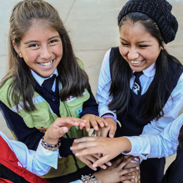Save the Children is working hard in Bolivia to help kids stay healthy and stay in school through sponsorship programs at local elementary schools and early education centers. Photo Credit: Susan Warner/Save the Children 2015.