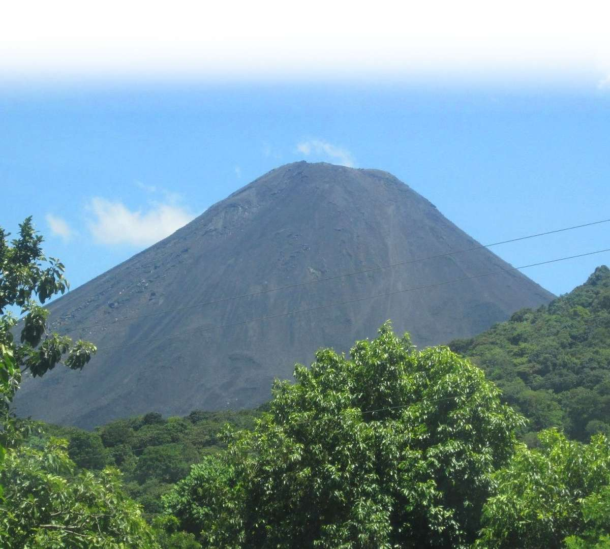 A volcano in Latin America. Photo Credit: Susan Warner/Save the Children 2016.