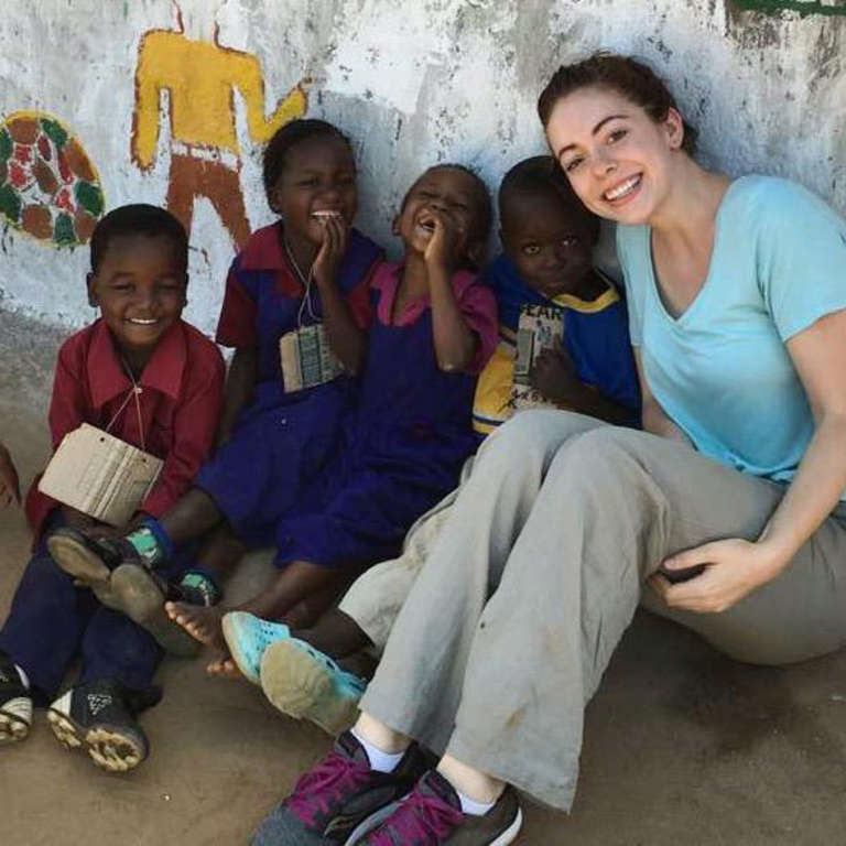 Michelle Faber, Save the Children employee in Malawi for a Sponsorship Review