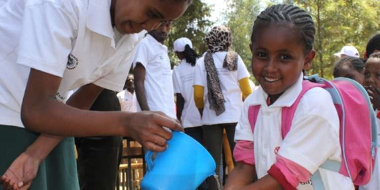 Sponsorship in Ehiopia helps children to grow up healthy, educated and safe. Photo Credit: Save the Children 2016.
