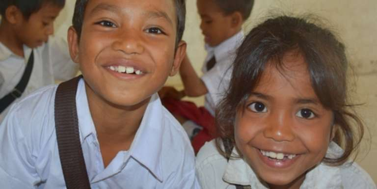Sponsorship in Indonesia helps children grow up healthy, educated and safe. Photo Credit: Save the Children 2016.