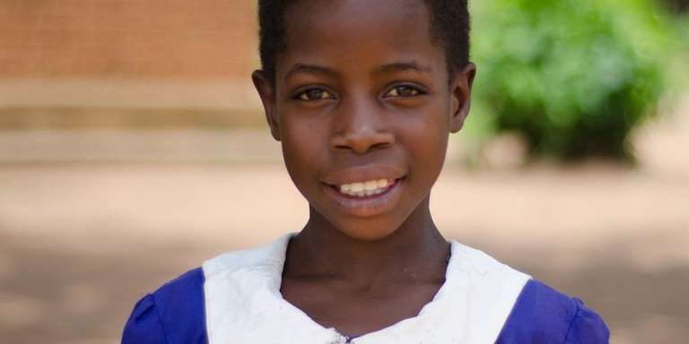 Learning is something that really excites Blandhina, age 10. But when she first started school a few years ago, she wasn't able to read or write. Now, those are her favorite hobbies and learning is something that holds a special place in her heart.