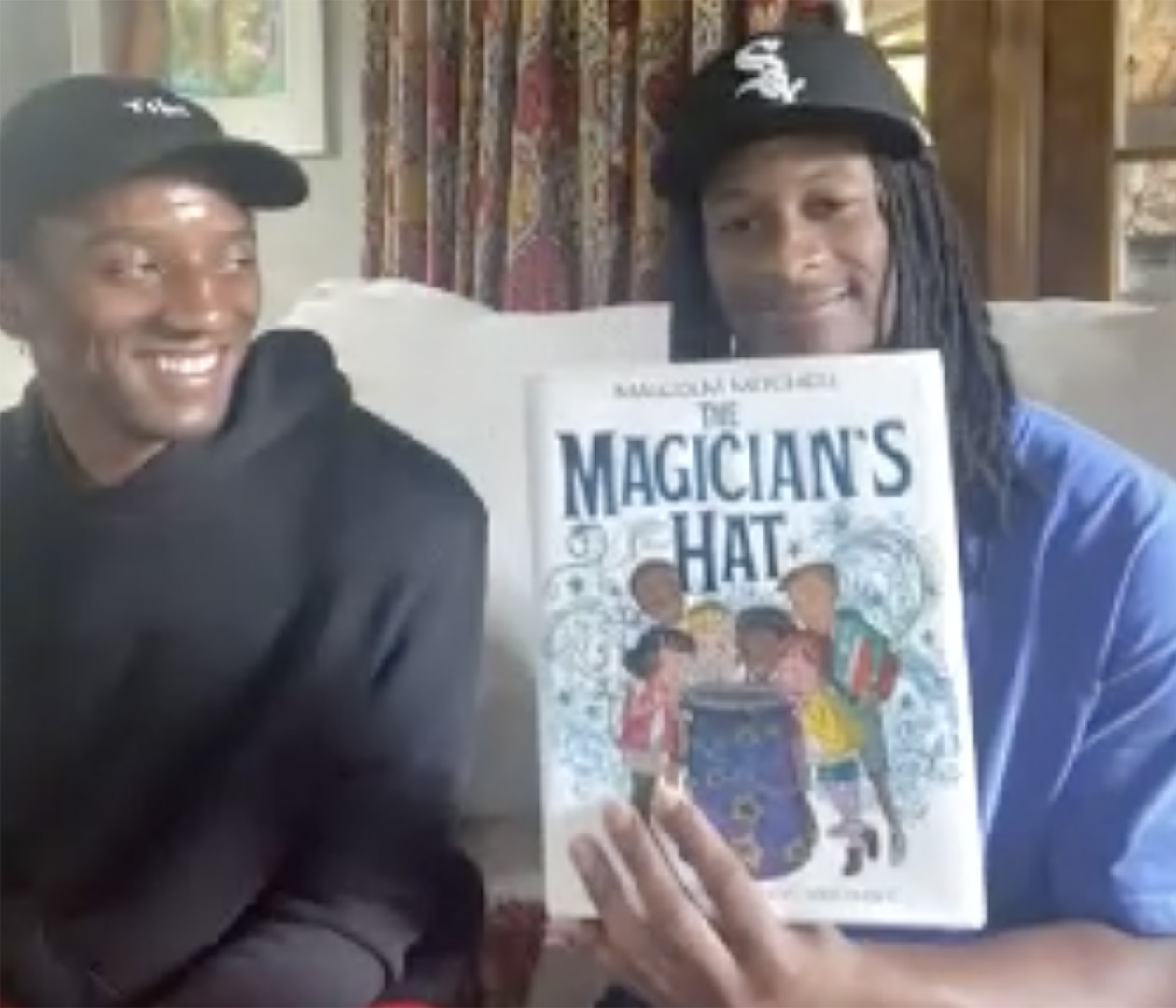 Join Todd Gurley and friends reading The Magician's Hat