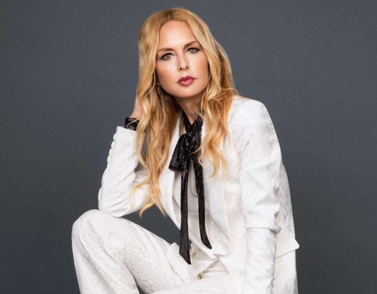 A photo portrait of Rachel Zoe.