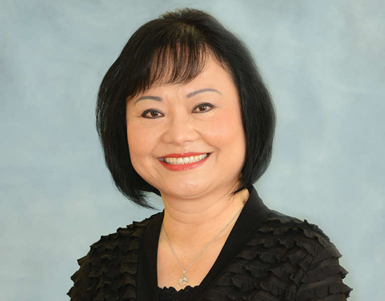 A photo portrait of Kim Phuc Phan Thi.