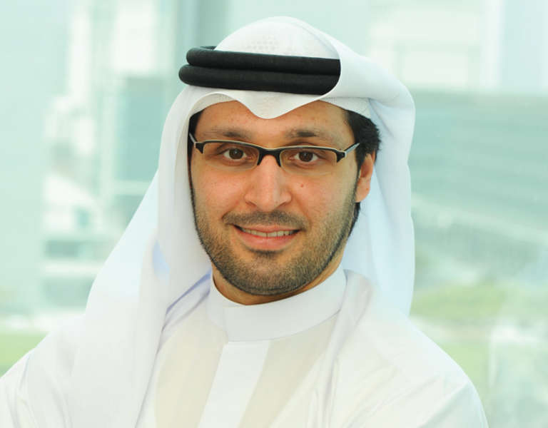 A photo portrait of His Excellency Tariq Al Gurg.