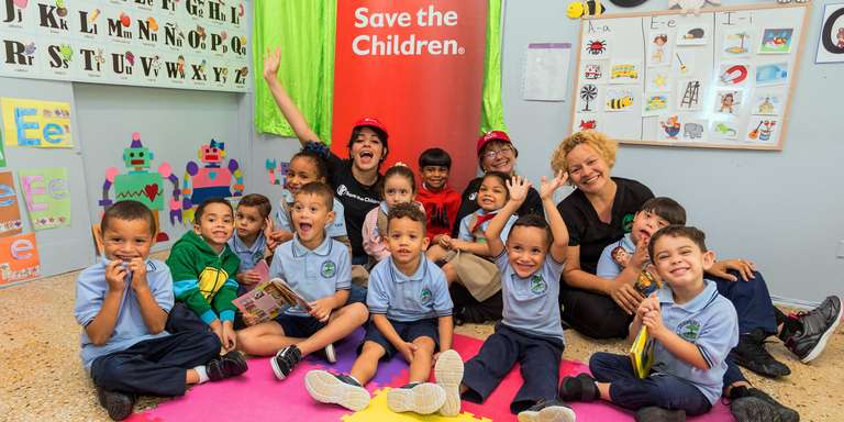 Chart-topping singer-songwriter Camila Cabello continues to use her powerful voice to raise awareness for our work on gender equity, early education and emergency response and has visited programs in Puerto Rico to meet families impacted by Hurricane Maria. Photo credit: Save the Children 2018.