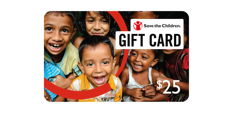 Save the Children Gift Card