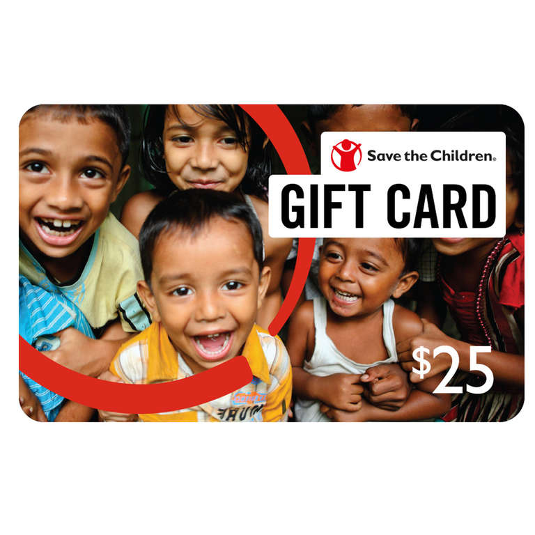 Save the Children gift cards are perfect to use for a bonus, an incentive, a holiday gift or a reward! Learn more.