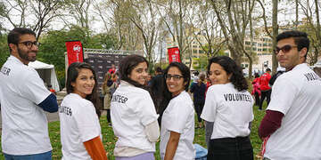 Save the Children celebrated their first annual Bridge the Gap Challenge on October 12th in New York City, to promote gender equality here in the US and around the world. Hundreds of participants walked over the Brooklyn Bridge as part of the fundraiser to help girls in need.