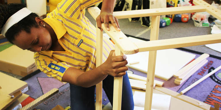IKEA and Save the Children have been partnering since 2003 to improve communities and give children a strong start.