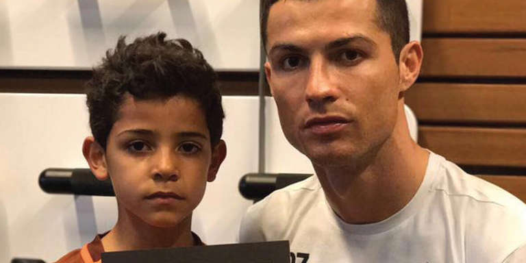 Cristiano Ronaldo cares about children.