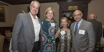 The Boston Leadership Council held a fundraiser at the Harvard Club in Boston to support children in Lebanon.