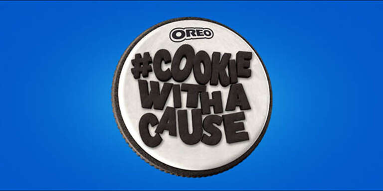 Oreo Cookie with a Cause Campaign Logo