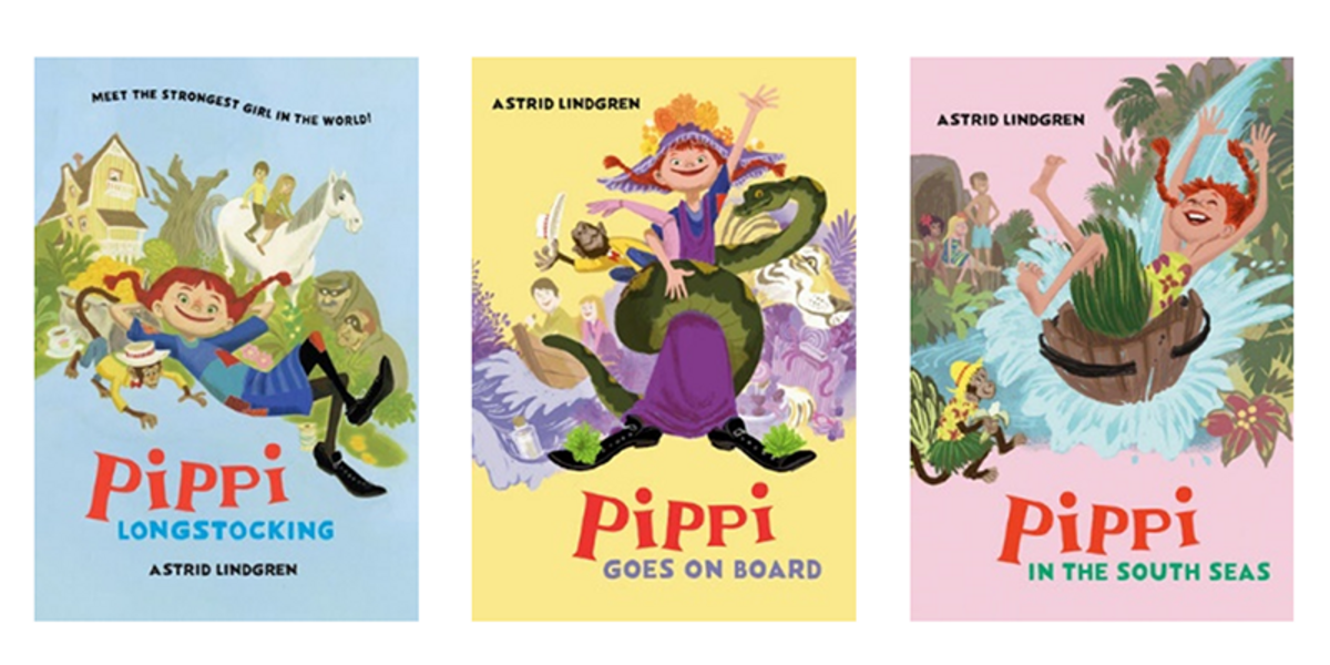 Pippi Book Covers