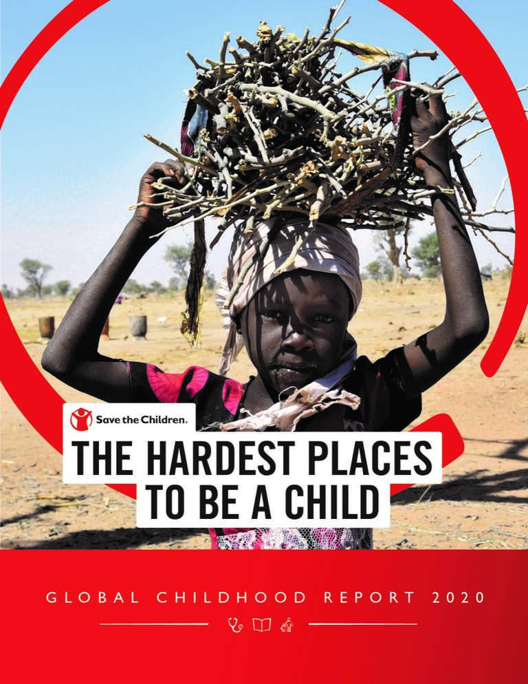 Global Childhood Report Cover 2020