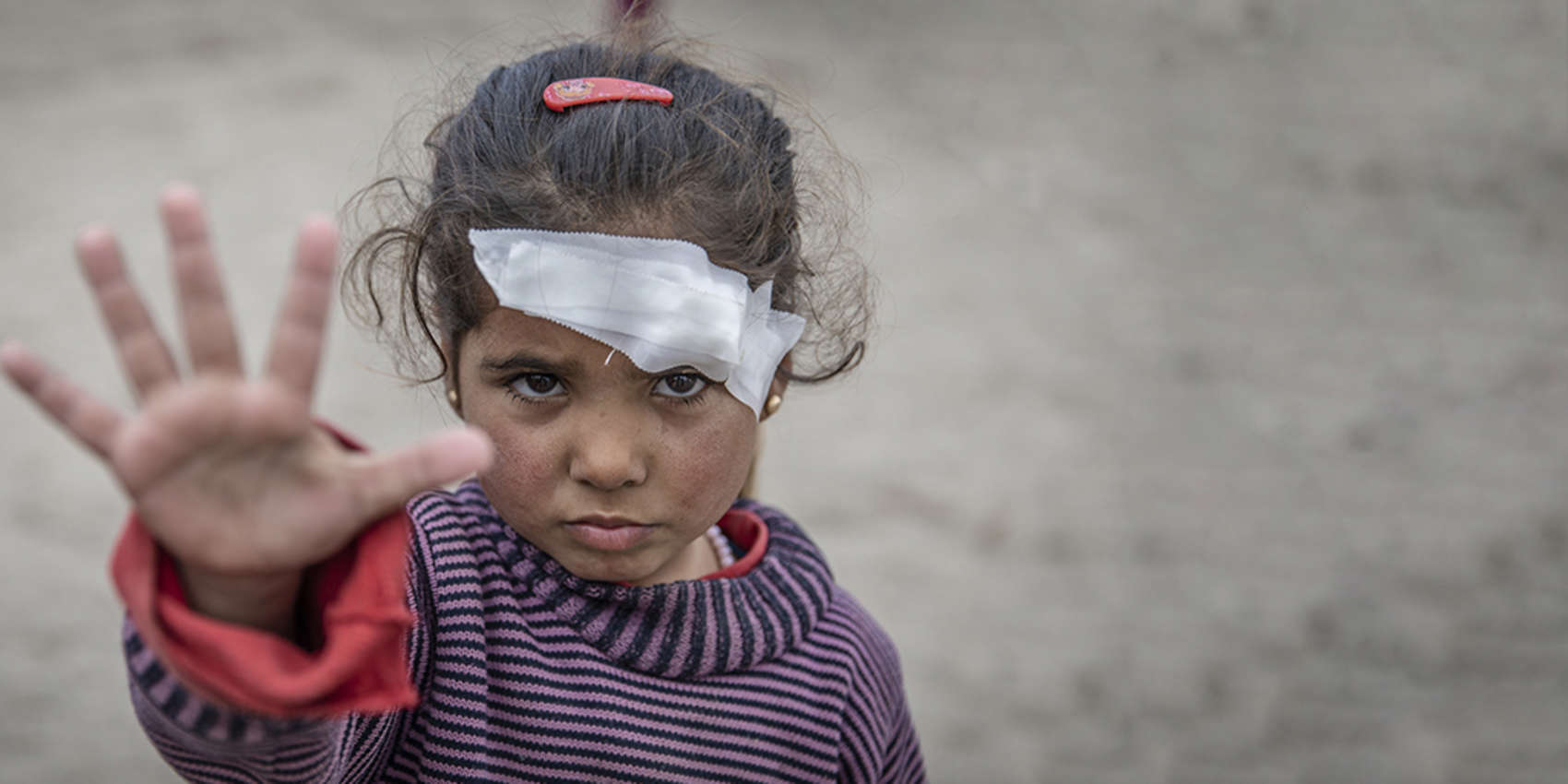 d6c78ba56296fd 1 IN 5 KIDS LIVES IN A CONFLICT ZONE. Today