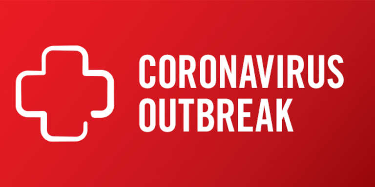 "The words ""Coronavirus Outbreak"" appear next to an icon. Read more about the new coronavirus outbreak including facts, frequently asked questions and tips to help protect children. Photo credit: Save the Children, 2020."