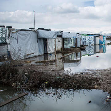 Heavy rainfalls and storms in different areas around Lebanon have brought floods and chaos to all populations, including Syrian refugees who were caught in the cold as the snowstorm Norma took hold in the first week of the new year.