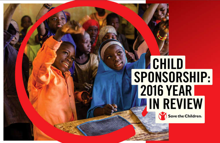 Child Sponsorship 2016 Year in Review