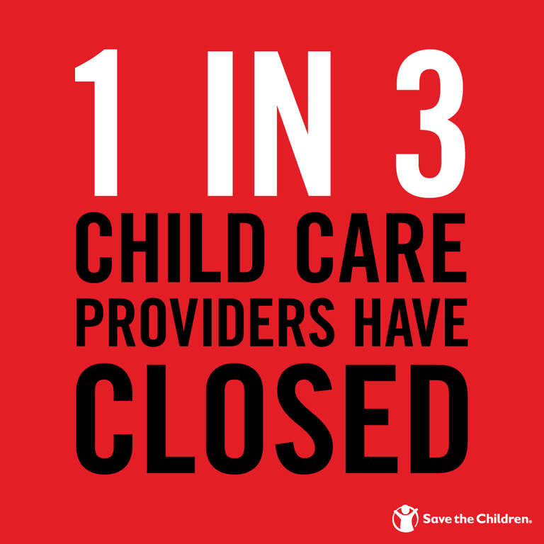 America's child care crisis by the numbers.