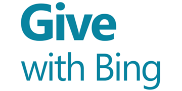 Give with Bing logo