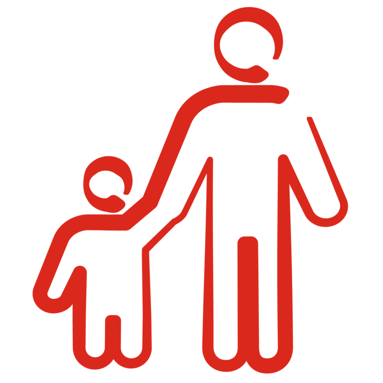 Father and Child Icon
