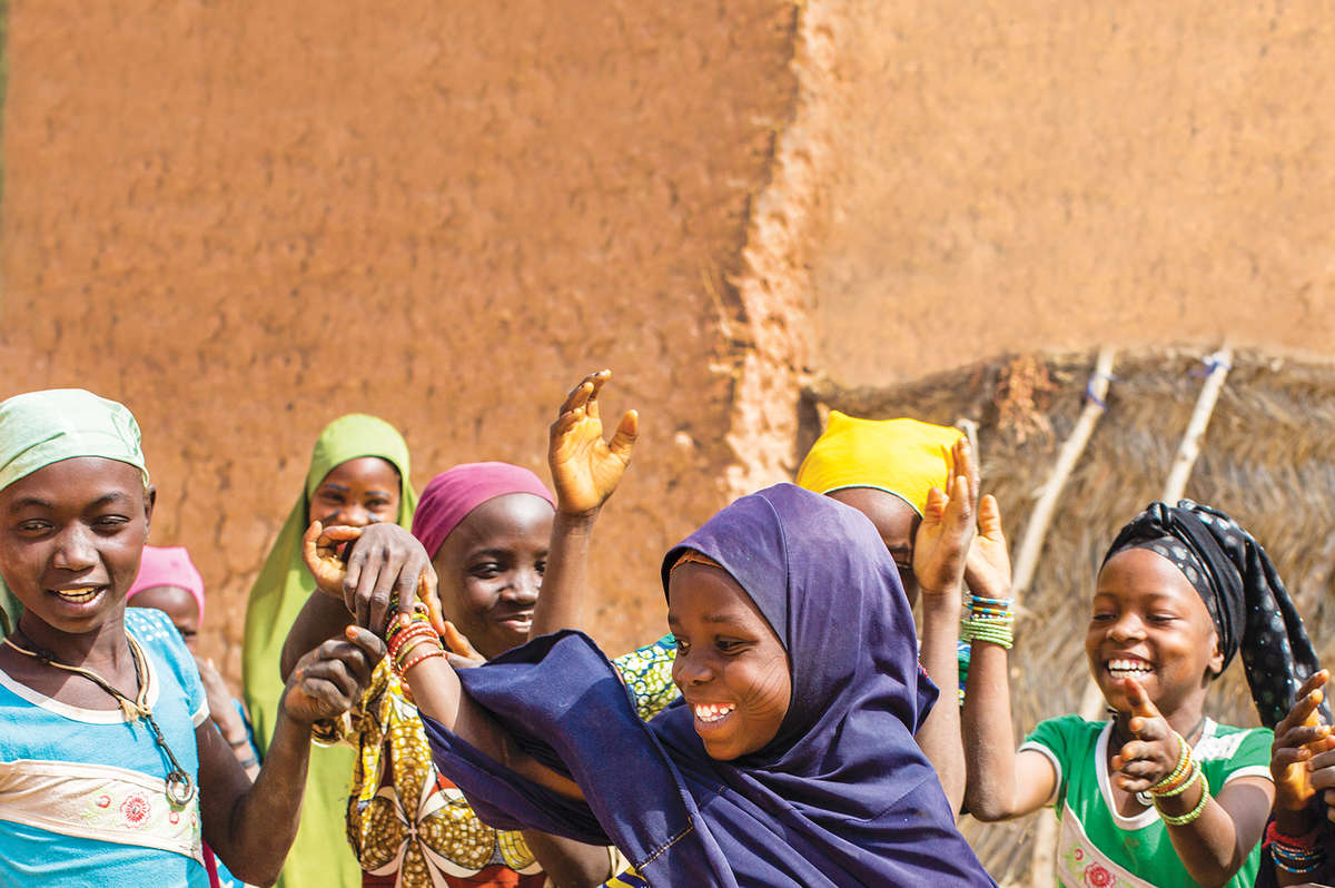 The future belongs to educated, empowered girls like these in Niger. Photo credit: Save the Children/Victoria Zegler 2017.