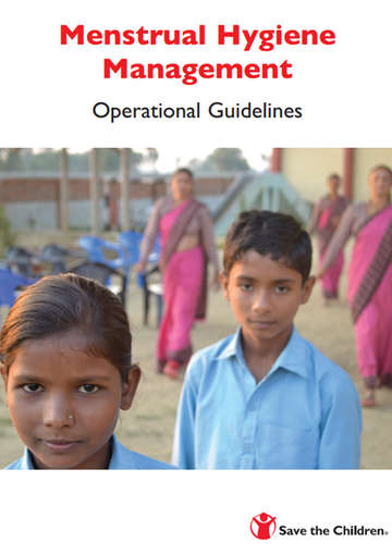 Menstrual Hygiene Management Operational Guidelines Cover