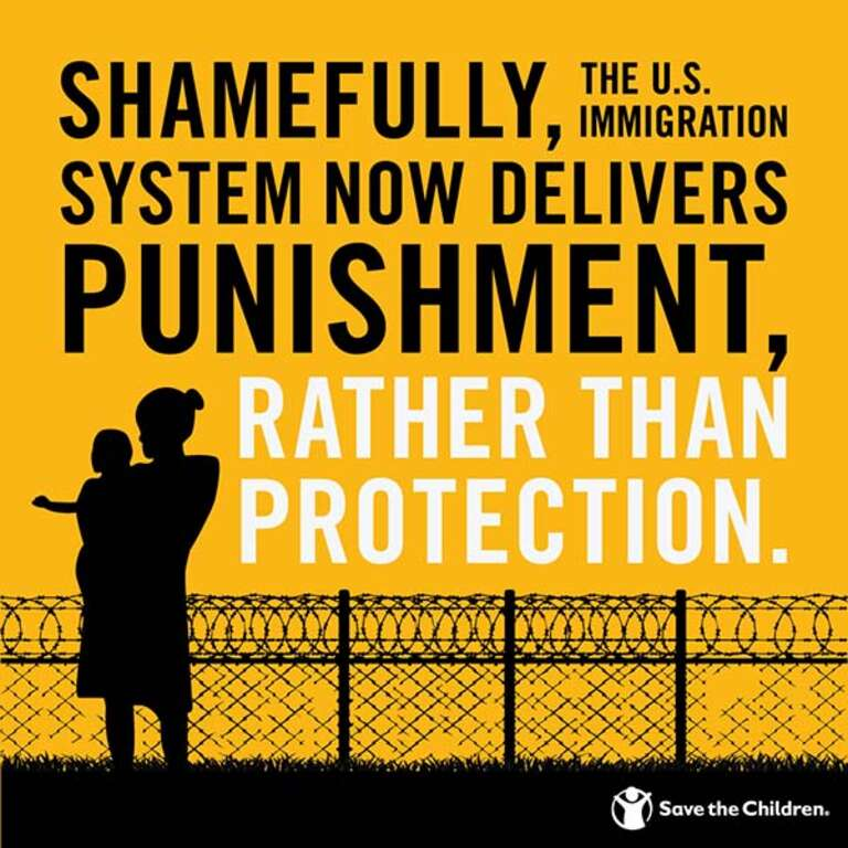 Shamefully, the U.S. Immigration system now delivers punishment, rather than protection.