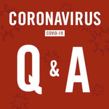 Coronavirus Q&A graphic