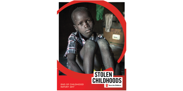 Stolen Childhoods Report Cover