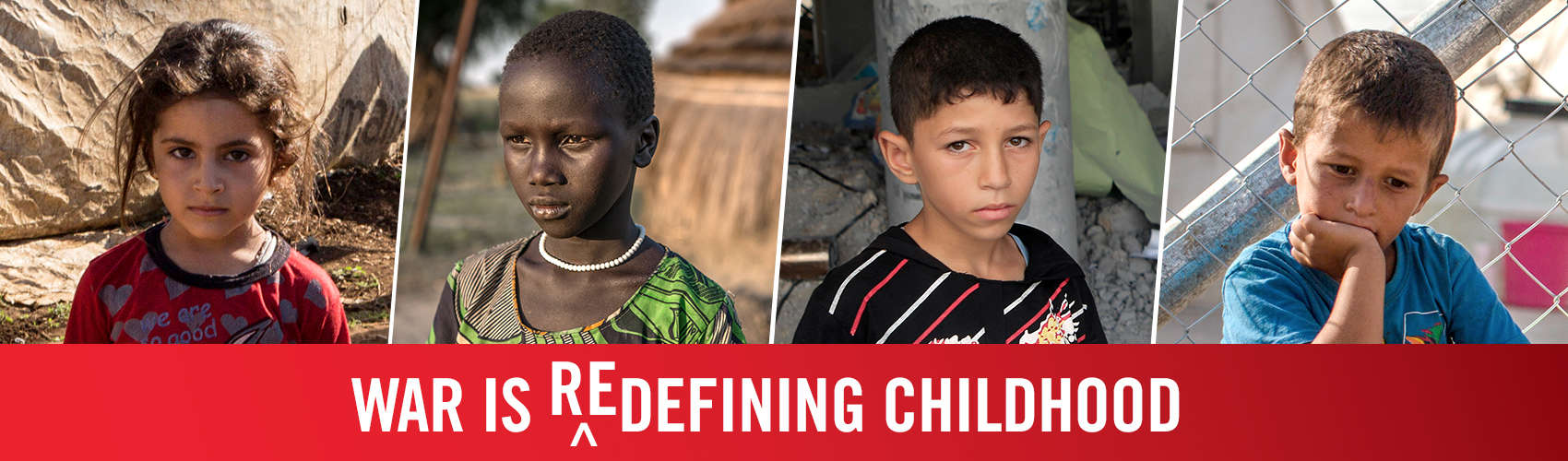 Globally, nearly 1 in 6 children are experiencing childhoods affected by conflict. Save the Children is working to provide essentials to these children. Photo credit: Save the Children, 2017.