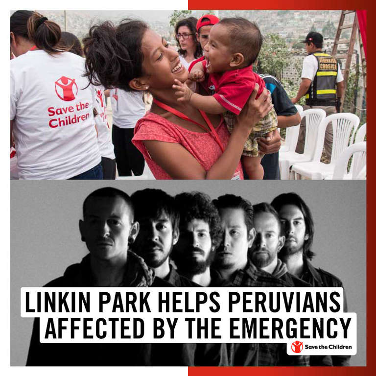 Linkin Park Helps Peru