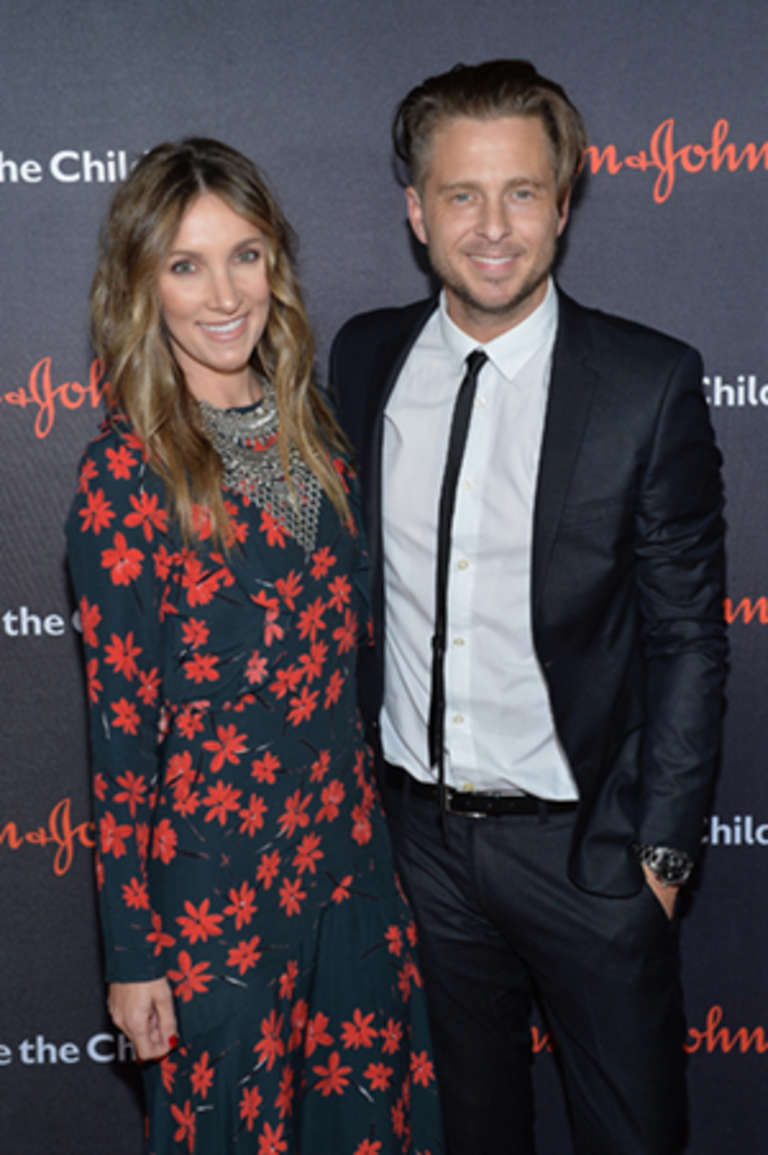 Genevieve Tedder and Songwriter Ryan Tedder attend the 5th Annual Save the Children Illumination Gala at the American Museum of Natural History on October 18, 2017 in New York City. (Photo by Noam Galai/Getty Images for Save The Children)