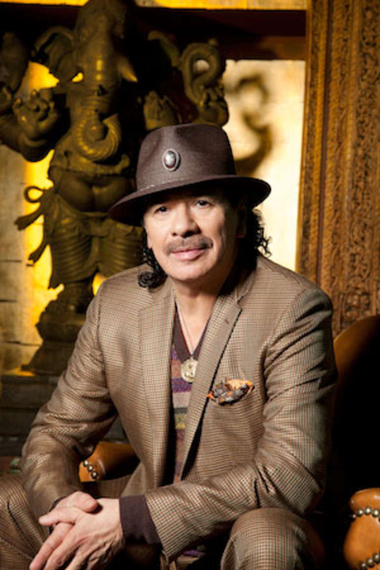 Musician Carlos Santana, a native of Mexico, donates $100k through his Milagro Foundation to help quake-affected children.