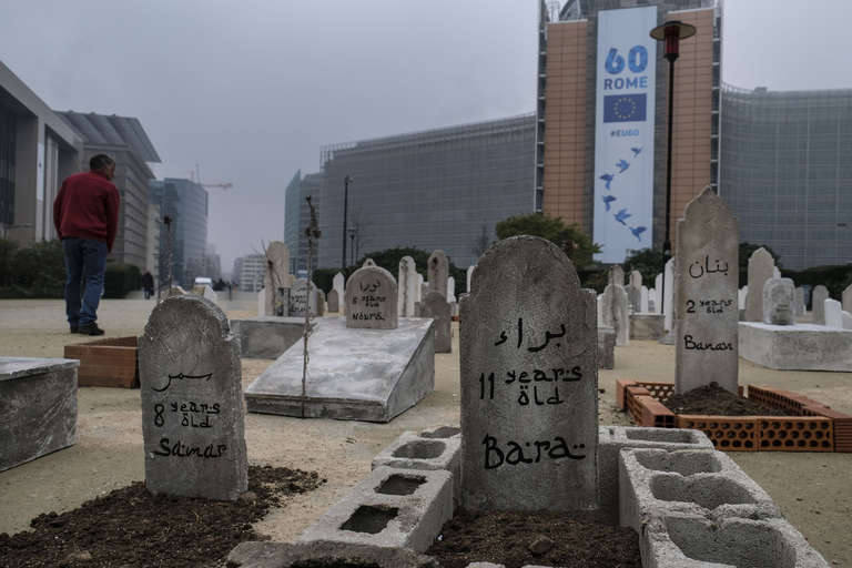 Syria cemetary in Brussels