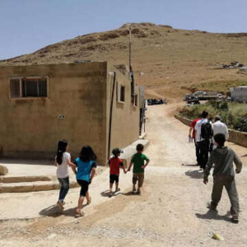 At least 400 Syrian refugees living in a settlement located in Arsal, Lebanon are becoming homeless as the Lebanese government prepares to demolish concrete structures in the town.