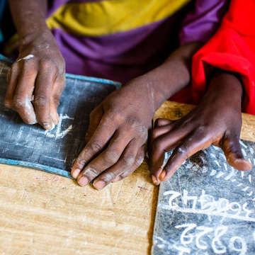 As the security situation continues to deteriorate across West and Central Africa, schools are forcibly closing causing children to miss out on education. Photo credit: Victoria Zegler / Save the Children 2016.