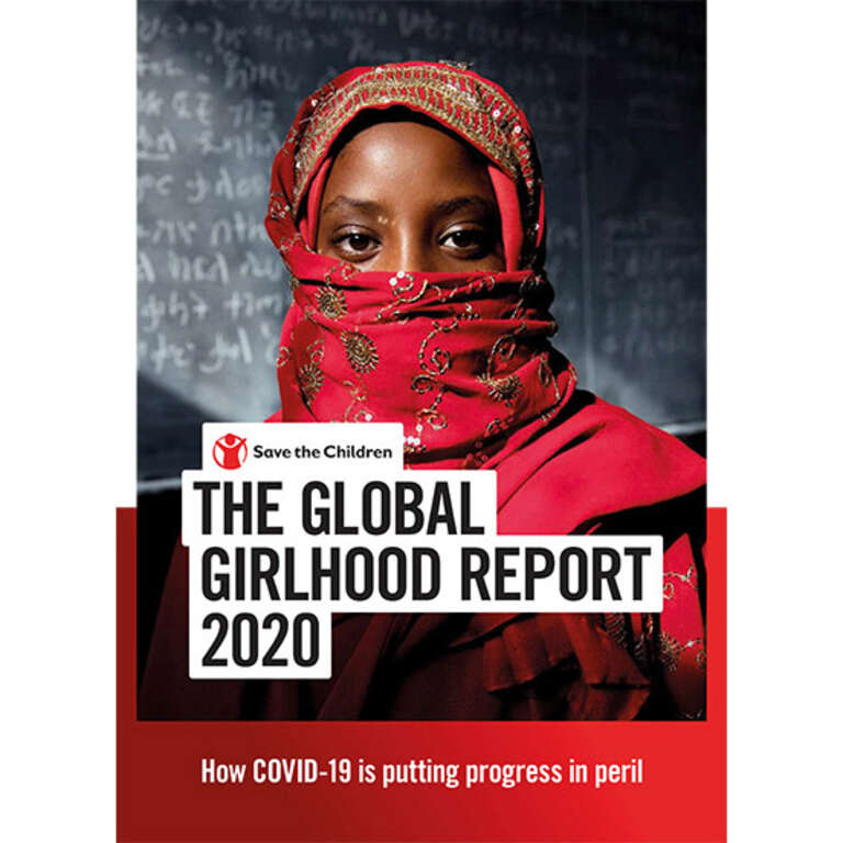 Global Girlhood Report 2020 Cover