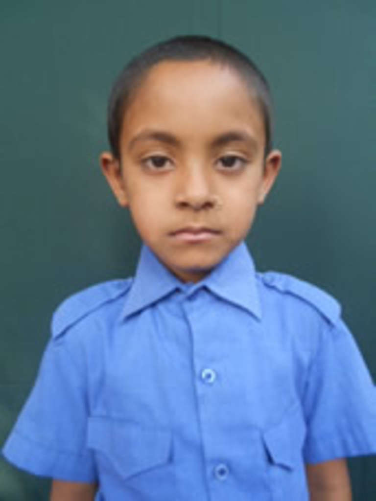 Sathi is a child sponosor of MT Maritime. Photo credit: Save the Children 2018.