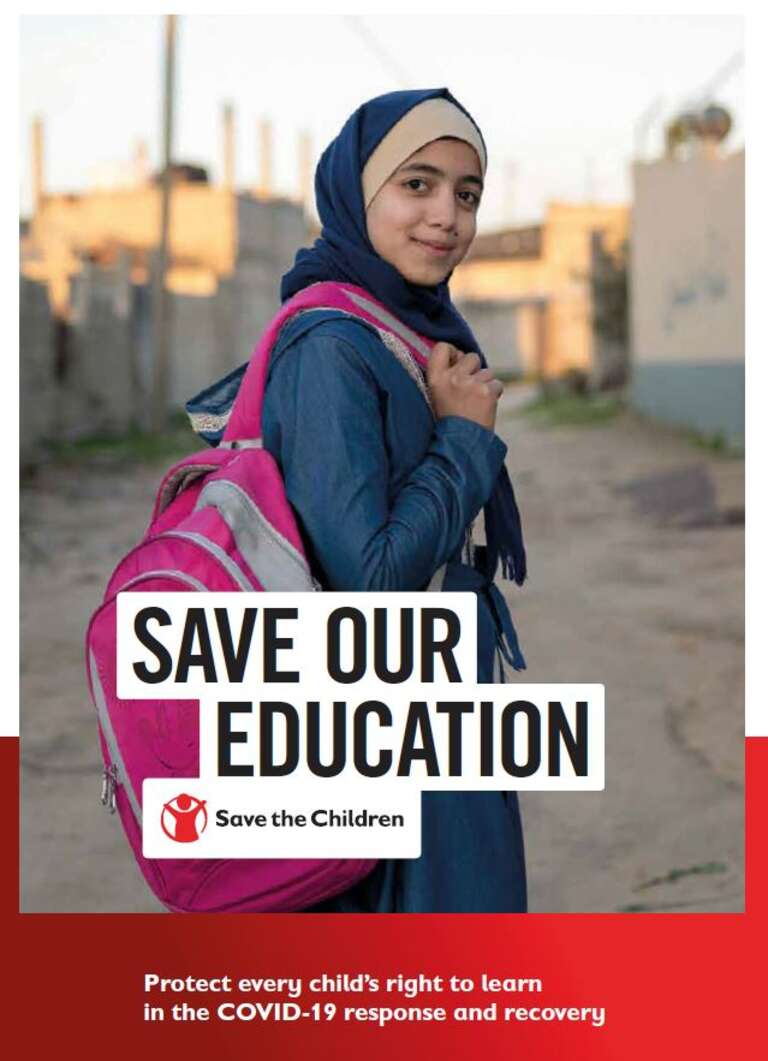 Save Our Education report cover