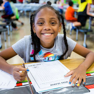 Tennessee summerboost reading program. Photo credit: Save the Children 2016.