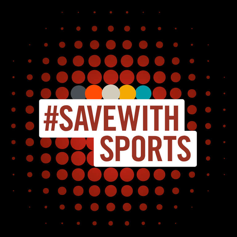 Save with Sports logo