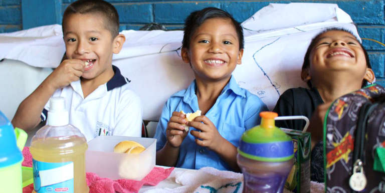 Ricardo is benefitting from sponsorship programs in El Salvador. Photo Credit: Save the Children in El Salvador